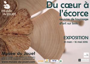 """Exposition """"Du coeur à l'écorce"""" au Musée du Jouet"""