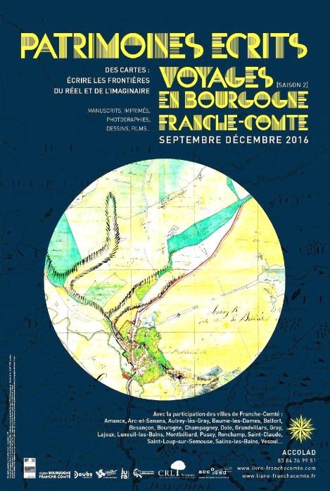 Septembre-décembre 2016 - Patrimoines écrits - Des cartes : écrire les frontières du réel et de l