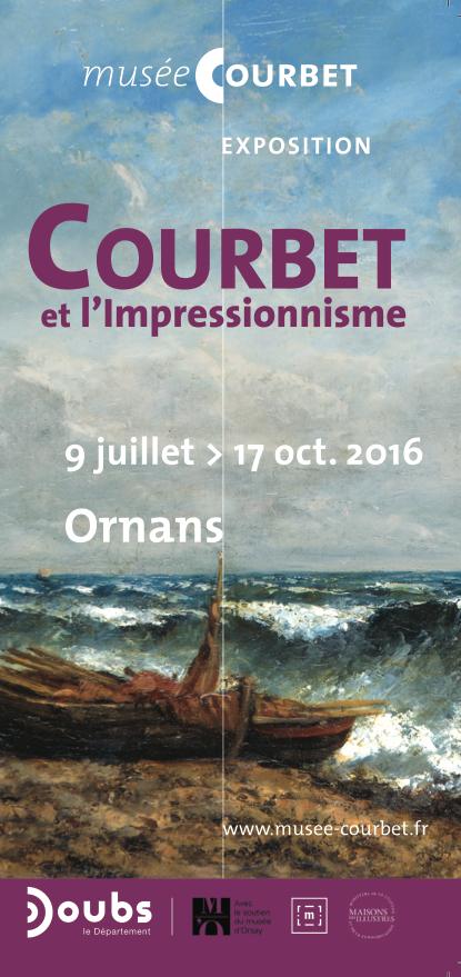 """""""Courbet et l'impressionnisme"""" – 14/09/16 : présentation de l'exposition temporaire"""