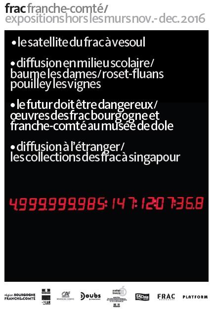 frac franche-comté / expositions hors les murs nov.- dec. 2016