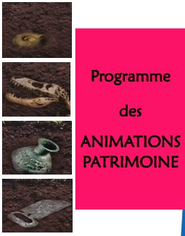 Programme des animations patrimoine – Lons le Saunier – février et mars 2017