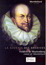 Découvrez la Gazette des Archives municipales de Montbéliard !