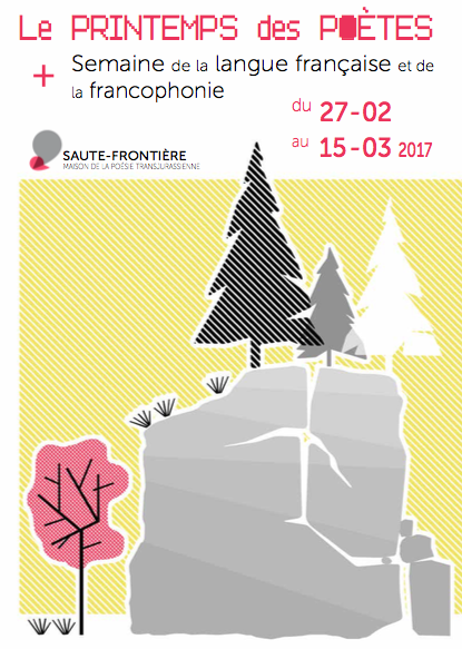 Printemps des poètes : Osons les langues ! – du 27 février au 16 mars 2017