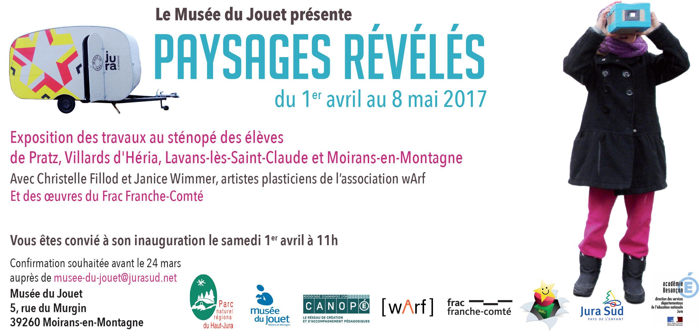 Musée du Jouet – Paysages révélés – du 1er avril au 8 mai 2017
