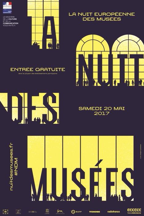 13e édition de la Nuit européenne des musées – Samedi 20 mai 2017