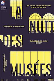 Nuit européenne des musées - Samedi 20 mai 2017