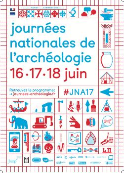 Journées nationales de l'archéologie – Lons le Saunier – 15-18 juin 2017