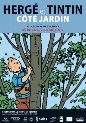 Saline Royale – Hergé et Tintin Côté jardin – jusqu'au 22 octobre 2017