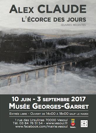 """Musée Garret – Vesoul – Exposition """"L'écorce des jours"""""""