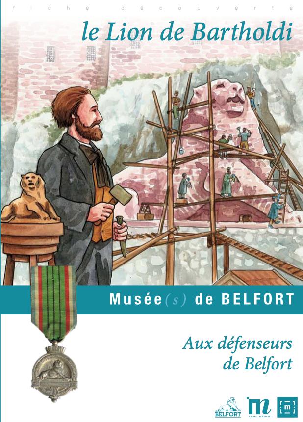 """Fiche pédagogique """"Le Lion de Bartholdi"""" – Musées de Belfort"""