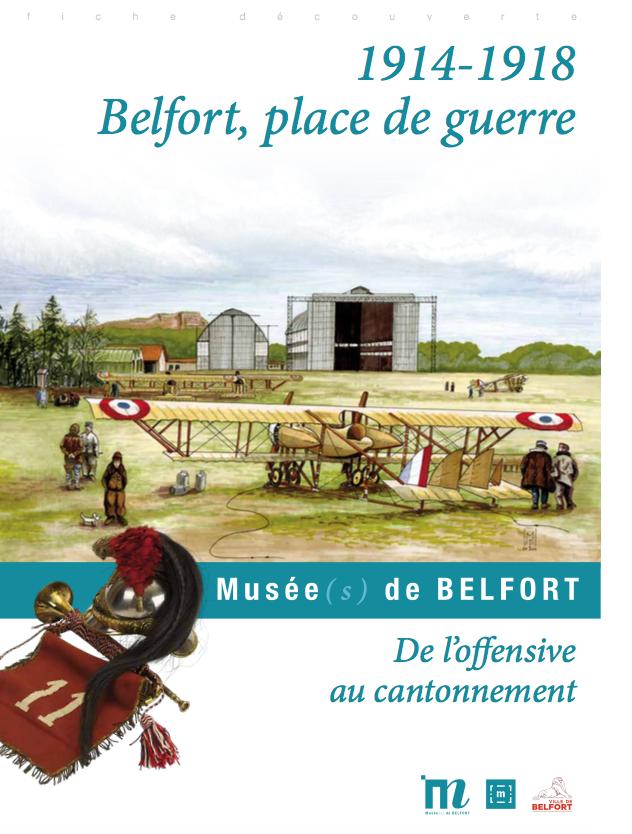 """Fiche pédagogique """"1914-1918 Belfort, place de guerre"""" – Musées de Belfort"""