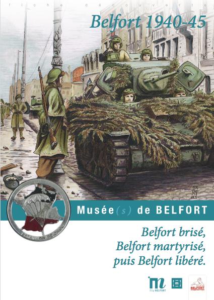"""Fiche pédagogique """"Belfort 1940-45"""" – Musées de Belfort"""