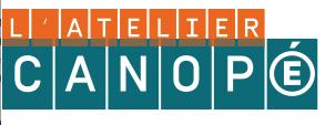 Lettre d'information de l'atelier Canopé 70 Vesoul – septembre 2017