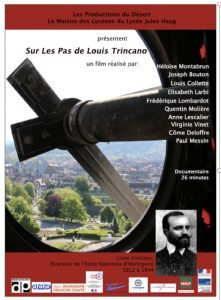 "Projection du documentaire ""Sur les pas de Louis Trincano""."