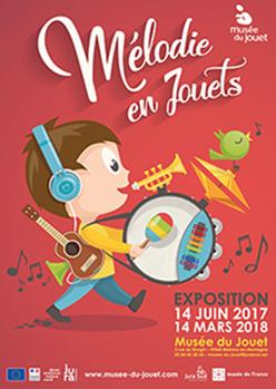 Mélodie en jouets – Musée du Jouet – jusqu'au 14 mars 2018