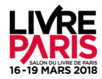 Salon Livre Paris – du 16 au 19 mars 2018