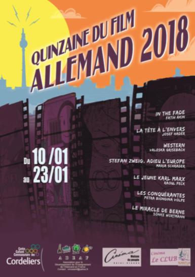 Quinzaine du film allemand – Lons le Saunier – du 10 au 23 janvier 2018