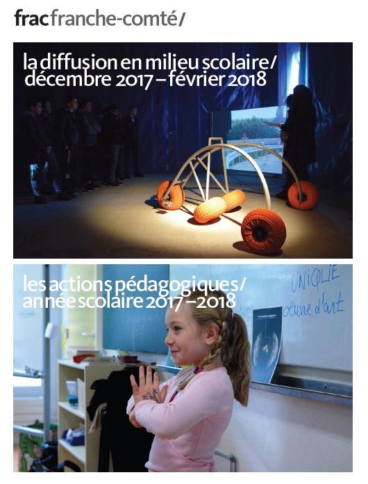 FRAC : diffusion en milieu scolaire / décembre 2017 – février 2018