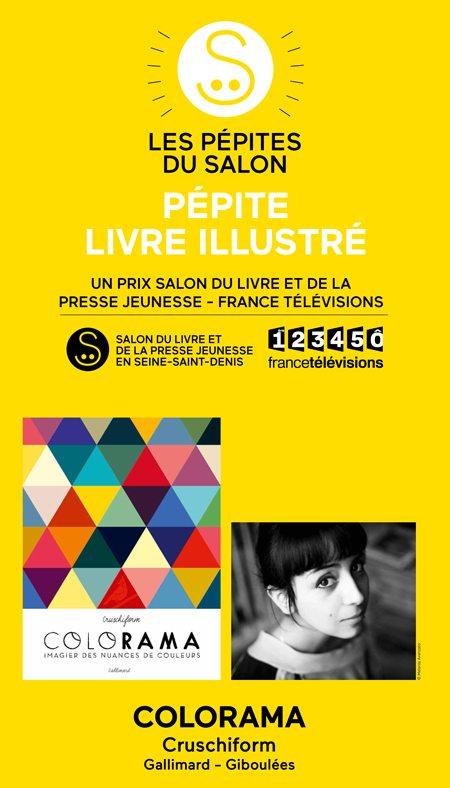 Pepite colorama - Salon du livre et de la presse jeunesse ...