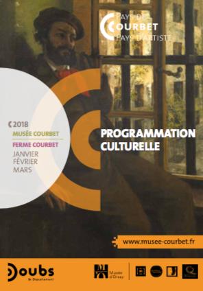 Découvrez l'agenda trimestriel du Musée Courbet !