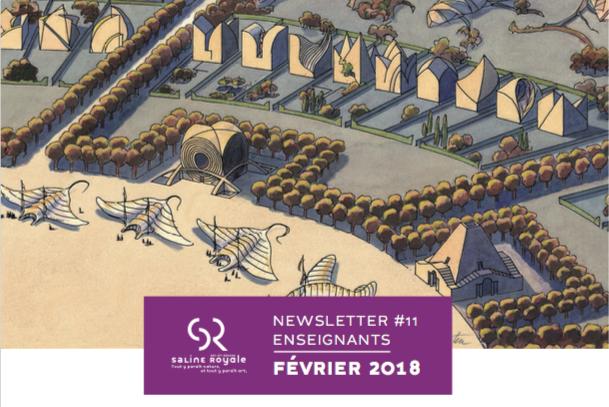 Saline Royale d'Arc-et-Senans : Newsletter février 2018