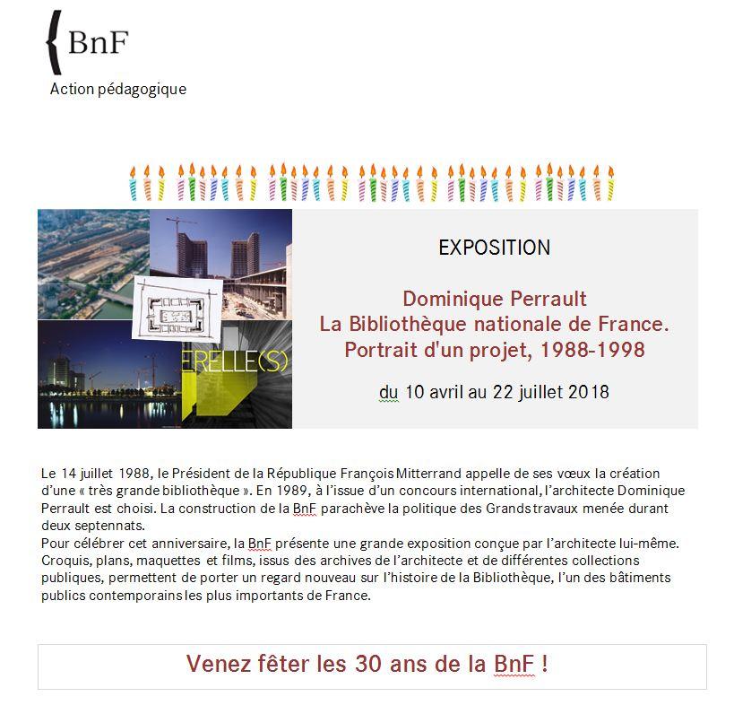 BnF – Dominique Perrault – Portrait d'un projet, 1988-1998 – Du 10 avril au 22 juillet 2018