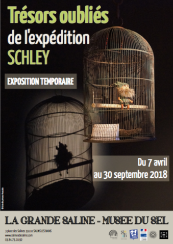 Grande Saline – Les Trésors oubliés de l'expédition Schley – du 7 avril au 30 septembre 2018