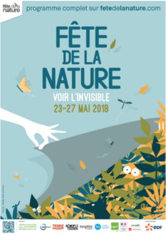 Fête de la Nature – Voir l'invisible – du 23 au 27 mai 2018
