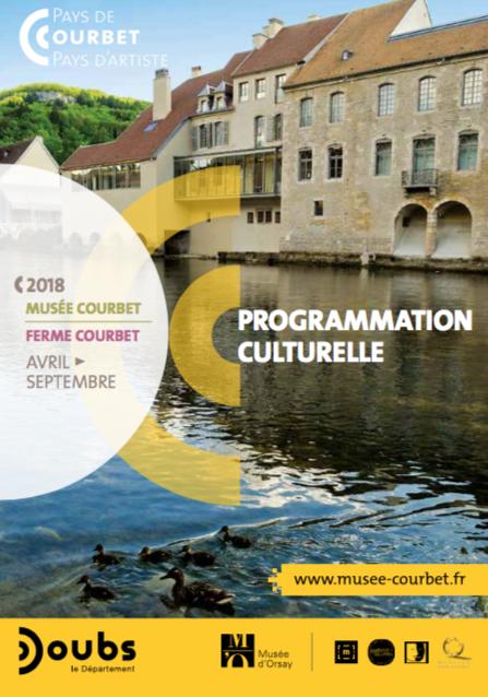 Découvrez le nouvel agenda du musée Courbet (avril à septembre 2018)