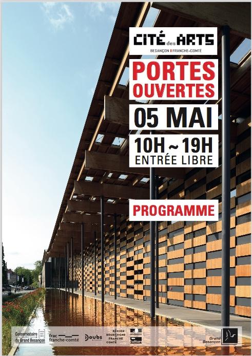 Journée portes ouvertes à la CITÉ DES ARTS samedi 5 mai