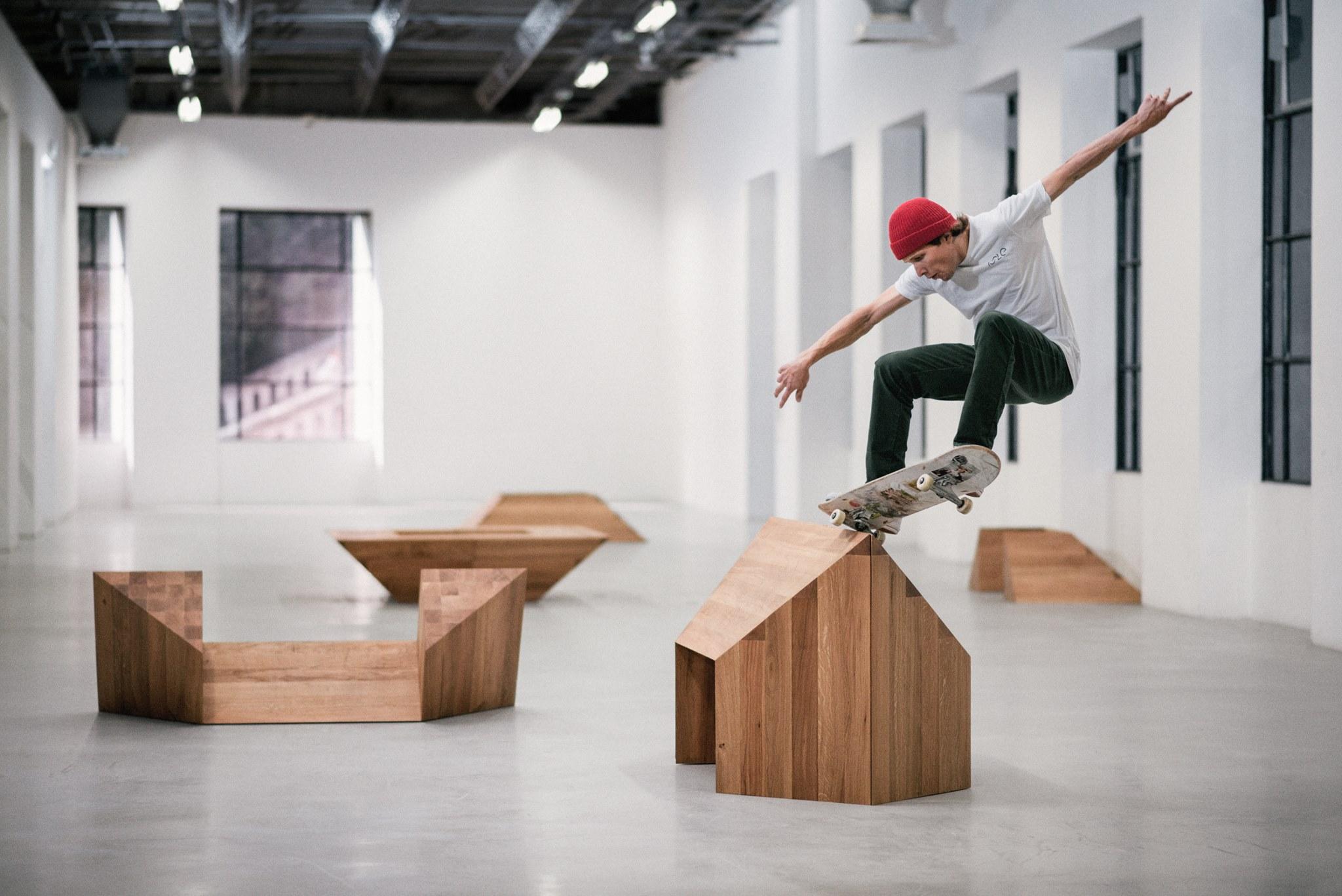 Finissage des expositions / Paving Space, session skate dimanche 20 mai au Frac Franche-Comté