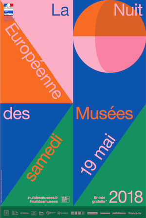 Nuit européenne des musées – samedi 19 mai 2018