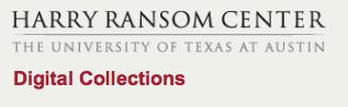 Les collections numériques du Centre Harry Ransom