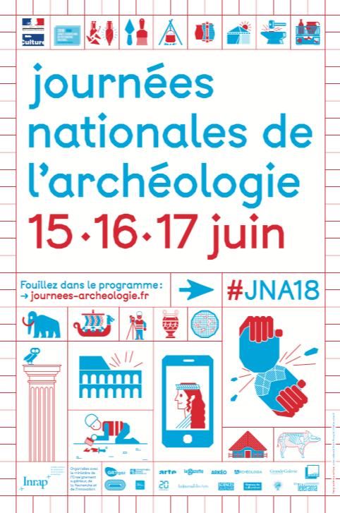 Journées nationales de l'archéologie – du 15 au 17 juin 2018