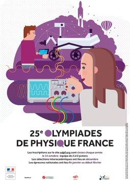 Olympiades de physique – Concours 2018-2019 – Les inscriptions sont ouvertes