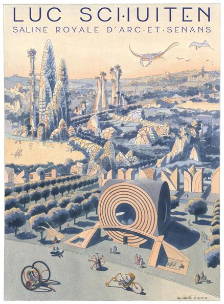 Saline Royale – Les panoramas de 2100 – Luc Schuiten