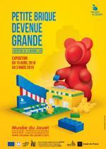 Musée du jouet – Petite brique devenue grande – L'aventure de la marque LEGO