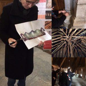 Patrimoine religieux médiéval à Besançon : compte-rendu de stage.