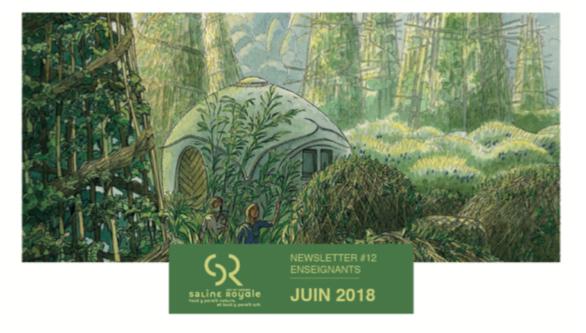 Saline Royale d'Arc-et-Senans : newsletter juin 2018