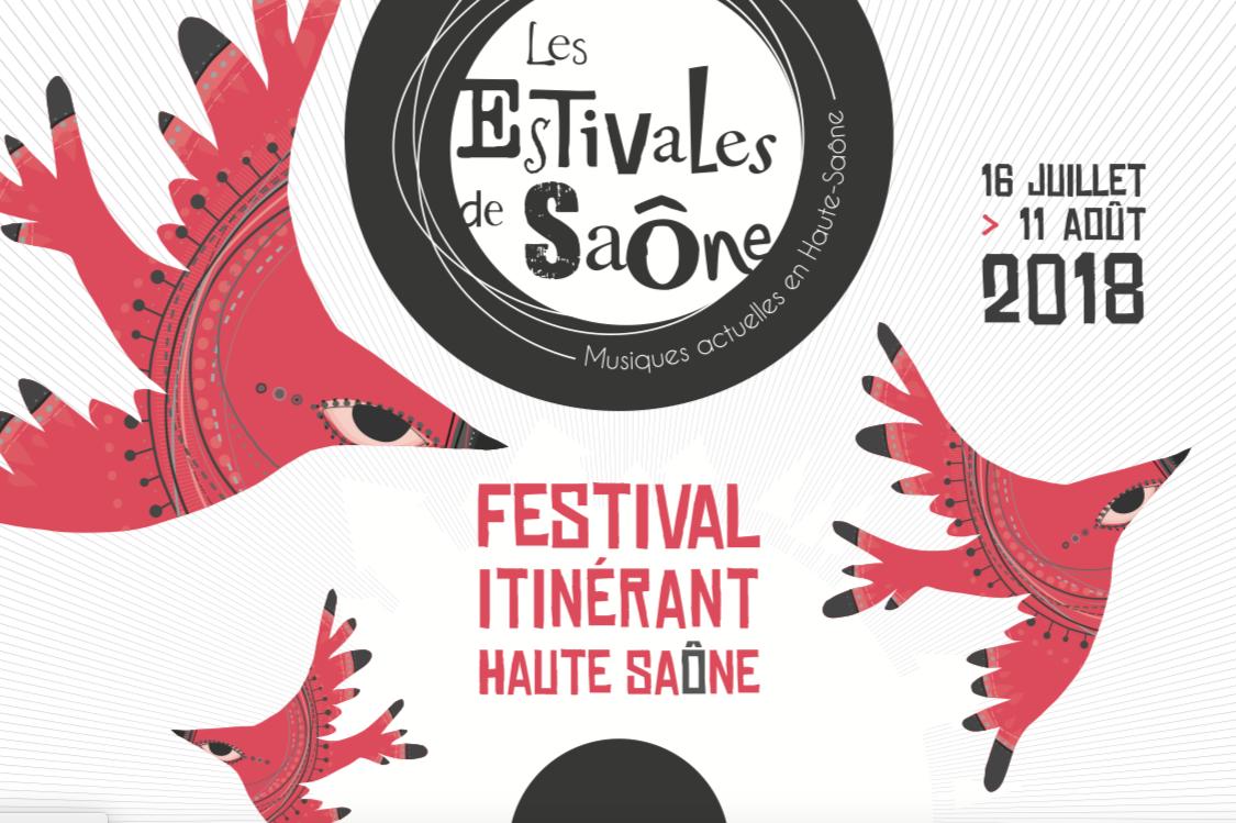 Les Estivales de Saône – Festival itinérant en Haute-Saône – du 16 juillet au 11 août 2018