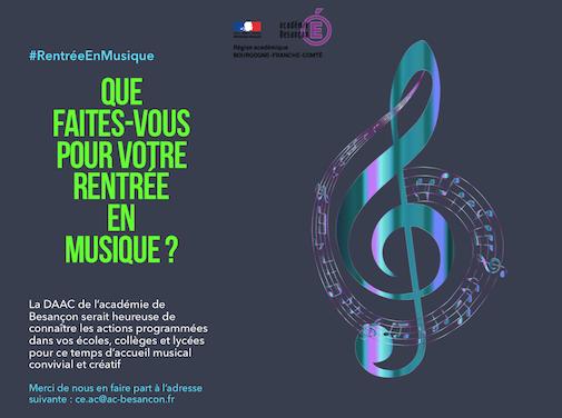 #RentréeEnMusique
