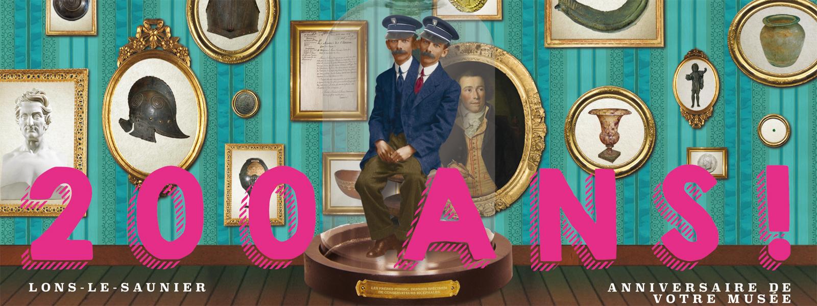 200 ans du Musée de Lons le Saunier ! Exposition prolongée jusqu'au 22 septembre 2019