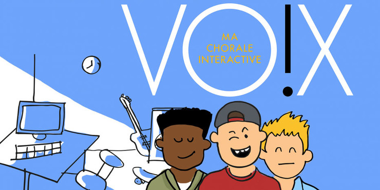 Vox, ma chorale interactive
