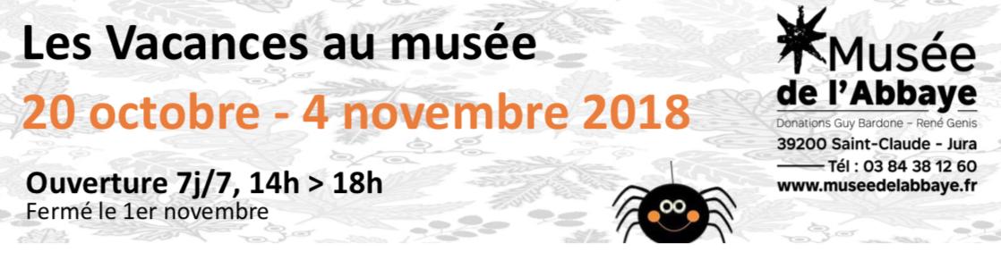 Vacances d'automne au Musée de l'Abbaye de Saint-Claude