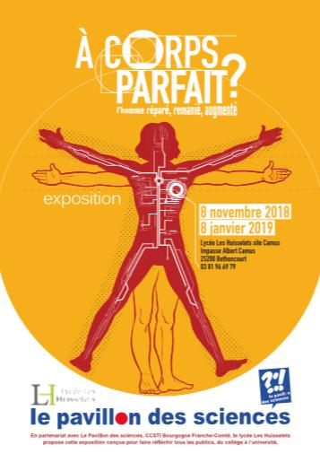 """Exposition """"A corps parfait ?"""" – du 8 novembre 2018 au 8 janvier 2019"""