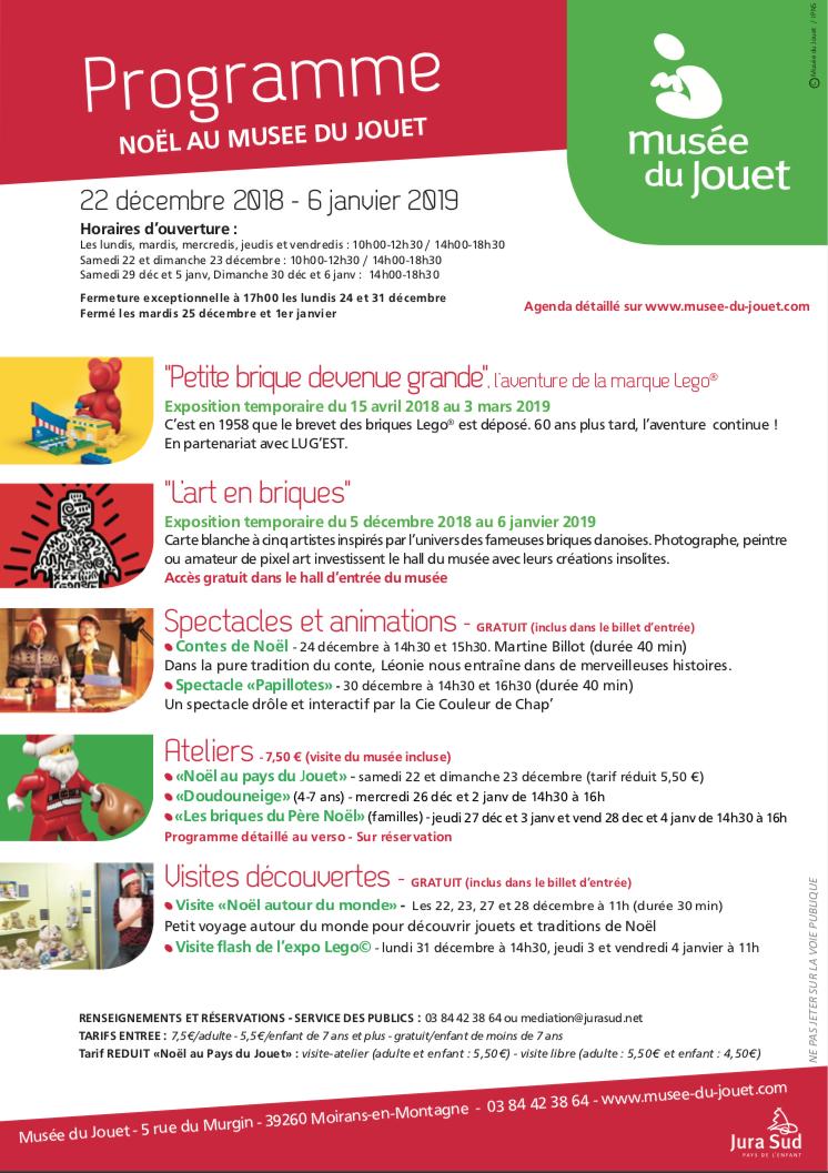 Vacances de Noël au Musée du Jouet