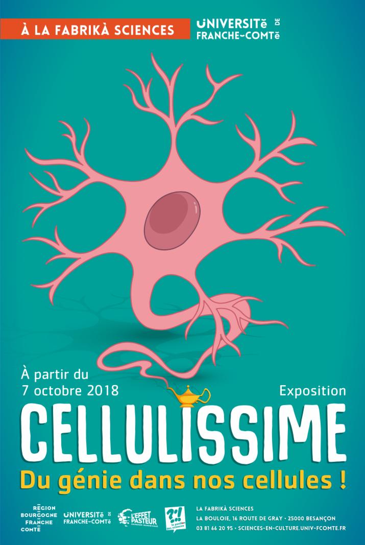 Fabrikà Sciences – Exposition Cellulissime