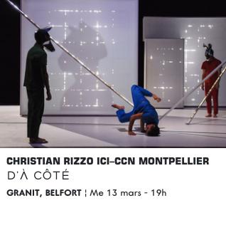Ma scène nationale – Le Granit – Belfort – D'à côté – Mercredi 13 mars 2019