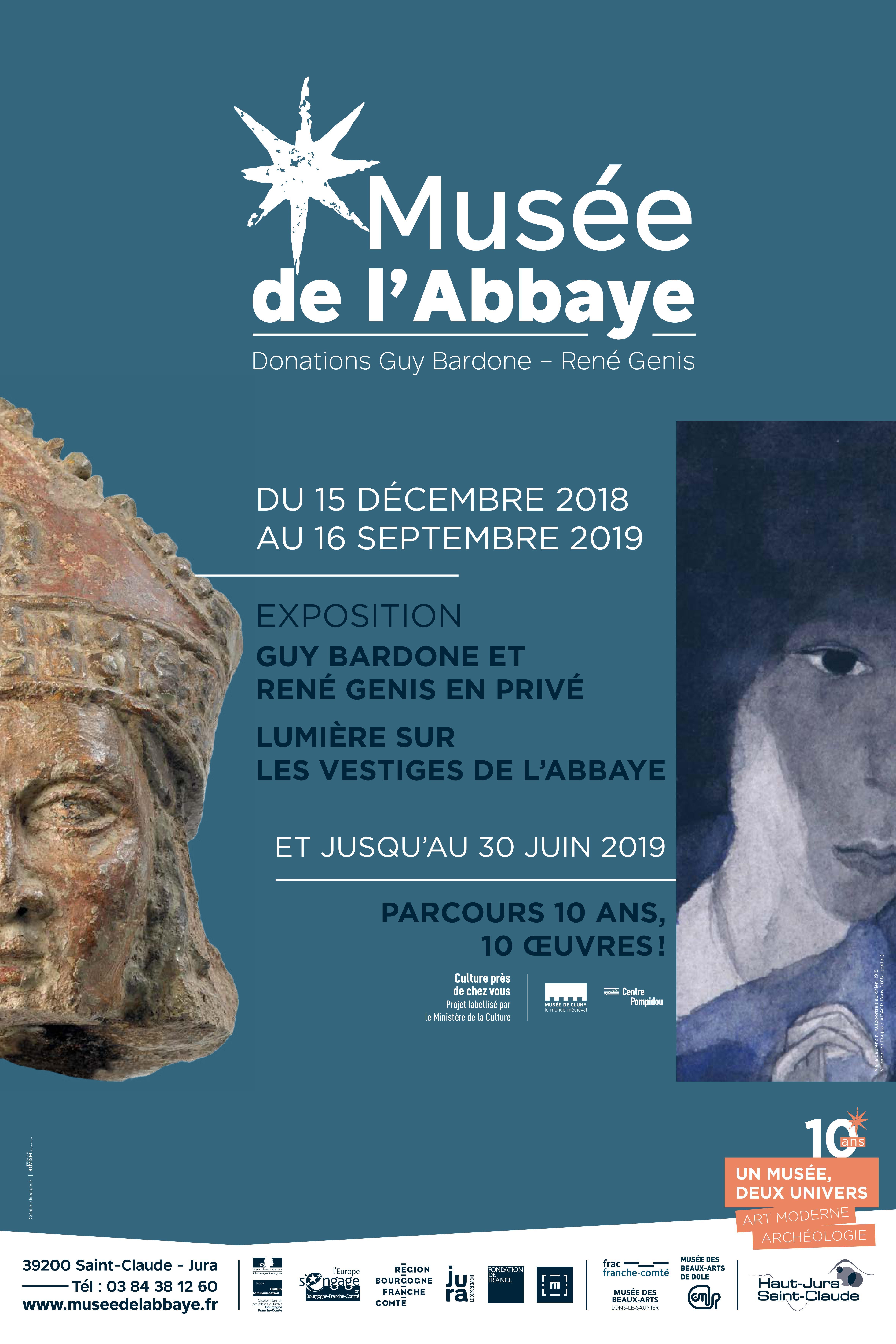 """Musée de l'Abbaye de St-Claude – """"Lumière sur les vestiges de l'abbaye"""" – jusqu'au 16 septembre 2019"""