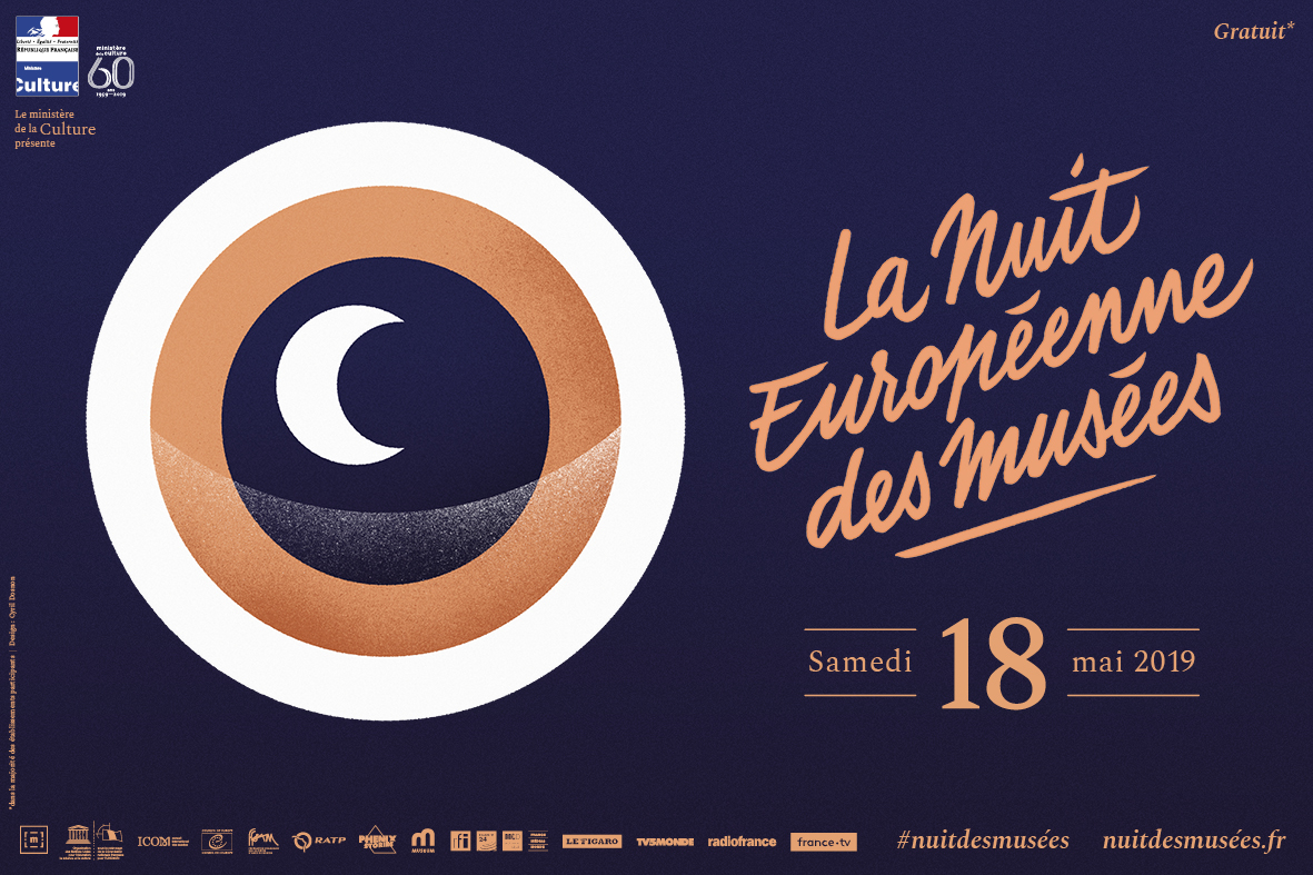 Nuit européenne des musées – Samedi 18 mai 2019